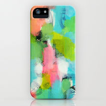 iPhone Samsung Art Phone Case Mixed Media
