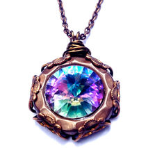 Mystic Pendant Crystal Chain Necklace