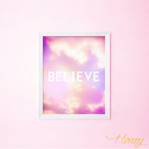 Believe Wall Art Print, 8x10.