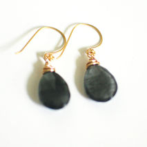 Labradorite Dangle Drop Earrings - Wedding Jewelry -Bridal Jewel
