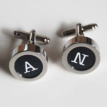 Men's personalized  Cuff links - - Men's Cuff links-  Photo Cuff