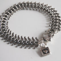 Men's Bracelet - Men's Jewelry -valentine's Day-  Men's  Fish Bo