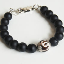 Men's Bracelets -Father's Day- Men's Jewelry - Men's Matte black