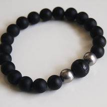 Men's Bracelets - Men's Jewelry - Father's Day Gift- Men's Matte