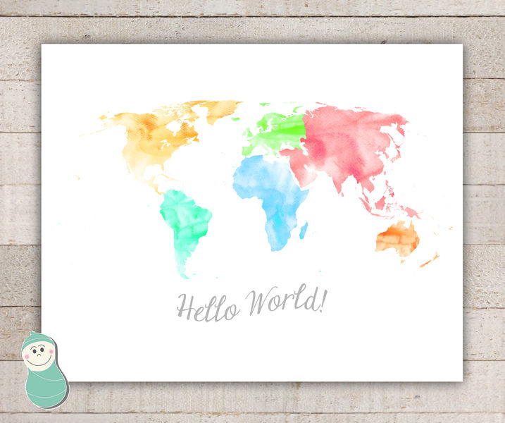 World map art oh the places youll go life with peanut pinklion gumiabroncs Image collections