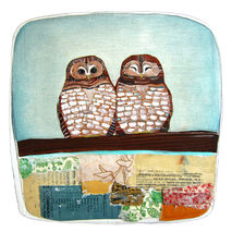 Two Spotted Owls