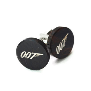 james bond cufflinks galleria central pinklion. Black Bedroom Furniture Sets. Home Design Ideas