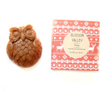 Mulberry Sprice & Moroccan Red Clay Owl Soap