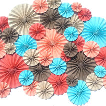 40 pc Pinwheels / Mix Size / CHOOSE COLORS
