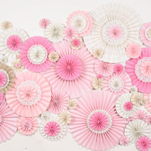 83 Pinwheels 4'x6'  Backdrop Decoration