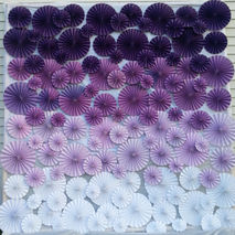 113 Pinwheels 8' x 8' Custom Color Photobooth Ceremony Backdrop