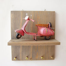 Pink Vespa key organiser, office and home key organiser