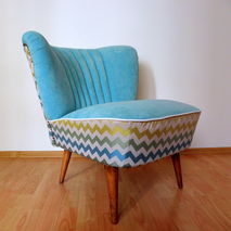 Restored Zig Zag Club Chair from '70s