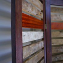 Room Divider / Partition made from Reclaimed wood