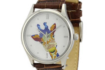 Giraffe Watch Colorful