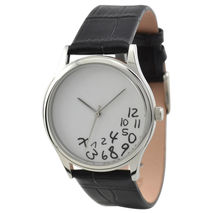 Craze Hours Watch (White)