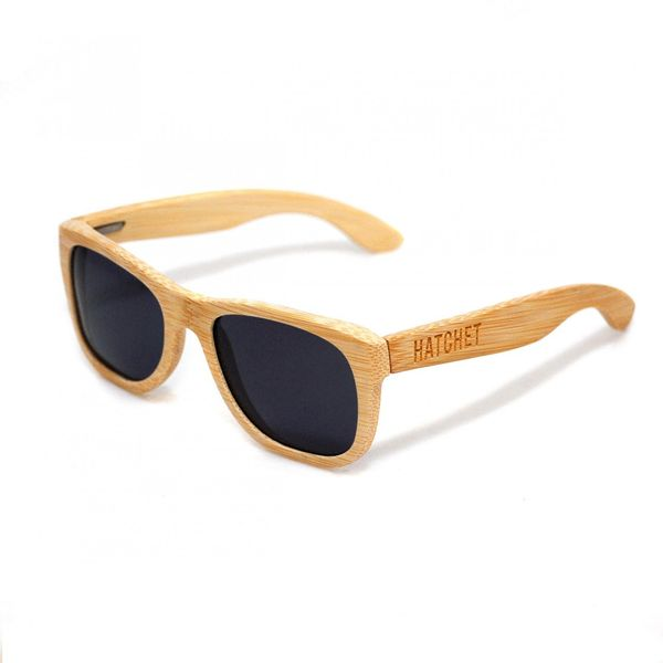 vancouver wood sunglasses in bamboo hatchet eyewear wood