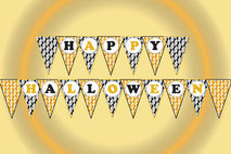 image relating to Happy Halloween Banner Printable identify Satisfied halloween banner, Halloween printable banner,Bash banner,