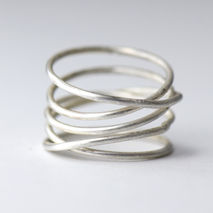 SIlver Wrap Ring