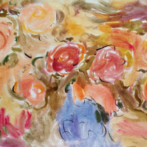 Flowers. Watercolor.