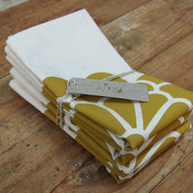 Napkins - Yellow Flower