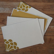 Placemats - Yellow Flower