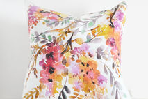 Golden Wisteria Pillow Cover
