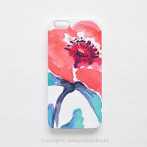 Coral Floral Smartphone Case