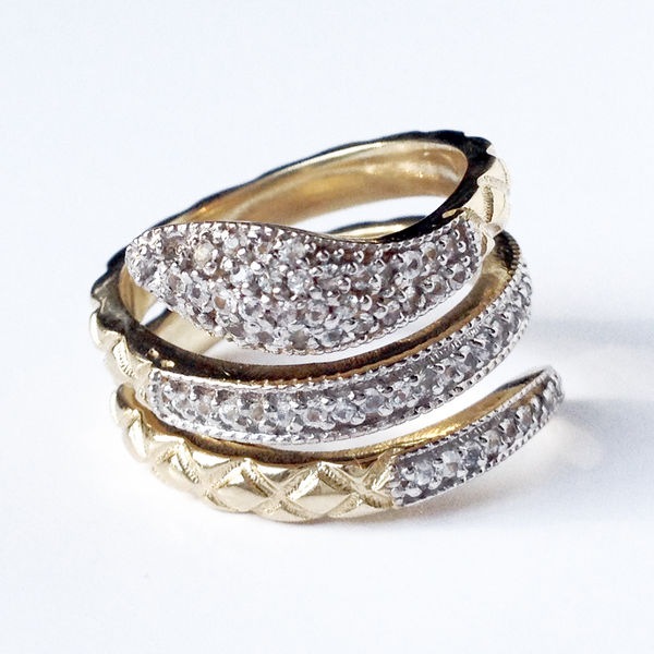 Small Snake Ring