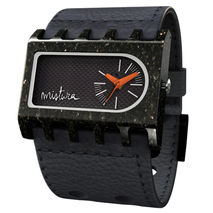 Ferro Arkitect Watch (Black / Carbon Fiber)