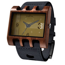 Lenzo Watch (Black Pui / Gold)