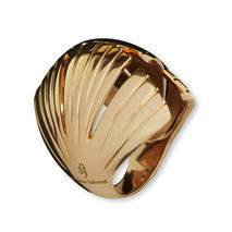 Rose Gold-Plated Ira Bronze Ring