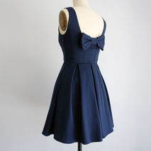 January Dress | Navy