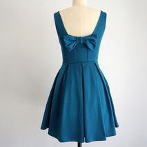 January Dress | Teal