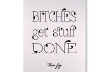 Tina Fey Quote Greeting Cards