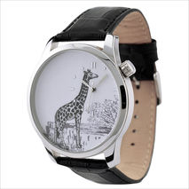 Giraffe Watch drawing