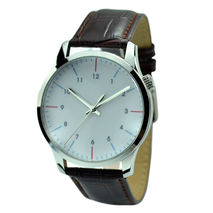 Minimalist Watch Dual Color Stripes Big size - Fr