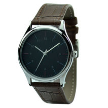 Minimalist Watch Dual Color Stripes - Unisex - Free shipping