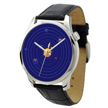 Father's Day Gift - Solar System Watch blue - Free shipping
