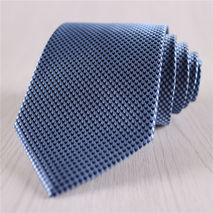 blue houndstooth neckties for men business cheap tie+n6