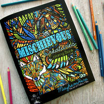 Coloring Book - Mischievous Creatures