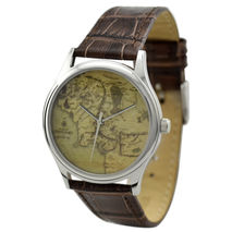 Map Watch (Middle Earth) in Silver