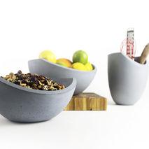 Seesaw Bowl Set Collection Blue Gray