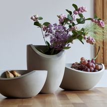 Seesaw Bowl Set Collection Mineral Gray