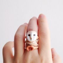 Owl Ring Set