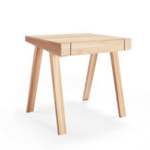 4.9 small desk European ash