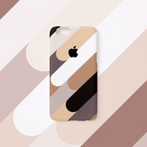 iPhone case - Coffee Mix, non-glossy M25