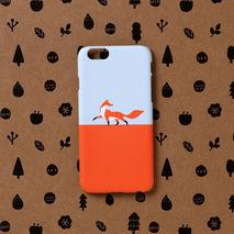 iPhone case - Fox walk, non-glossy C08
