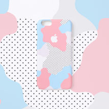 iPhone case - Pastel Geo, non-glossy C17