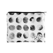 Upper East Eyelash polka dot portfolio clutch bag